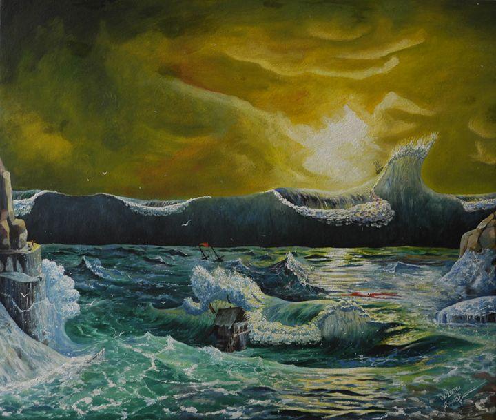 7.      Tsunami. - Art Galeery Leonid