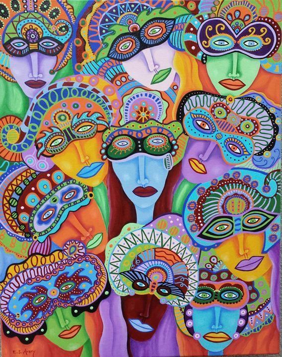 Masquerade 7 - Erika S. Avery