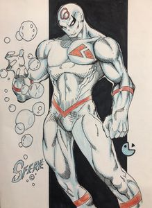 SFERE of Alpha Korps Comic Book