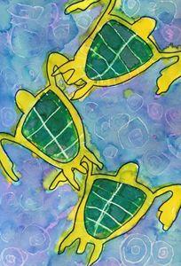 Three way Turtles