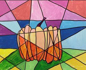 Pumpkins fractional page