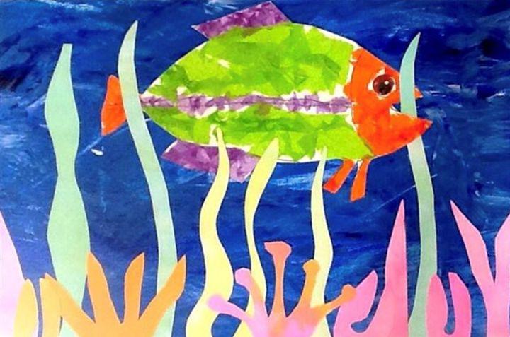 Fish Eats - Ajani Art