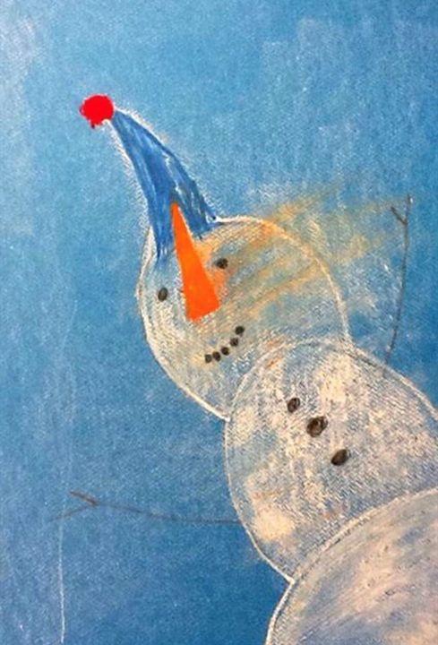 Snow Dude - Ajani Art