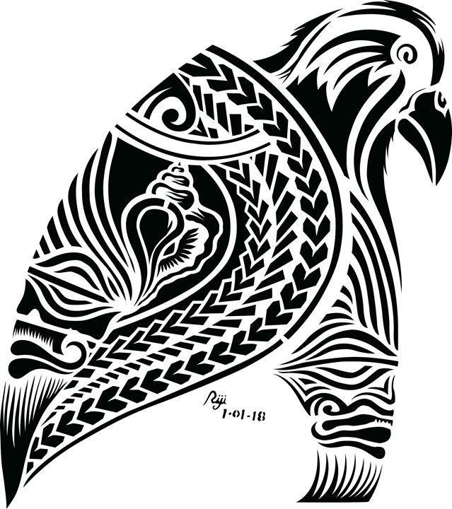 kingfaol - Mana Pacific Art