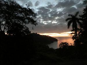 The Darkened Sunset