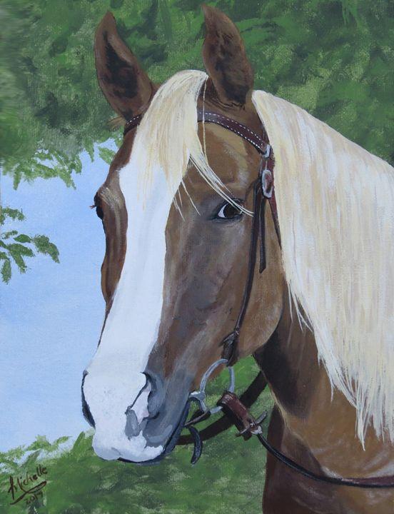 Horse - Muck-About Fine Art