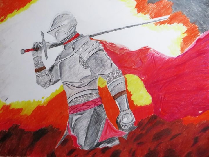 Fire and Steel - DoodleKnight