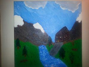 river cabin