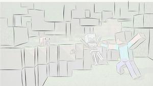 A Minecraft Background