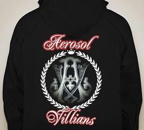 Aerosol Villains Hoodie - Aerosol Villians