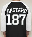 Baseball style t shirt graffiti mens