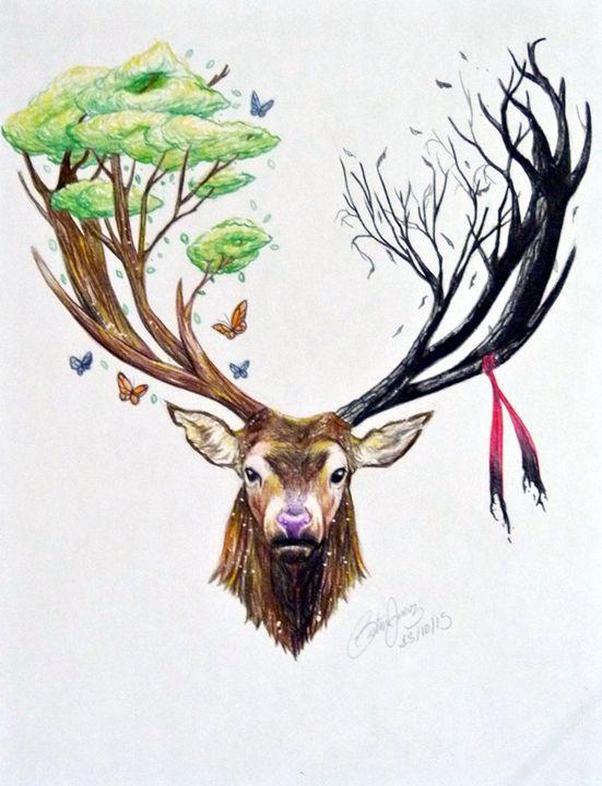 Deer - taavoart