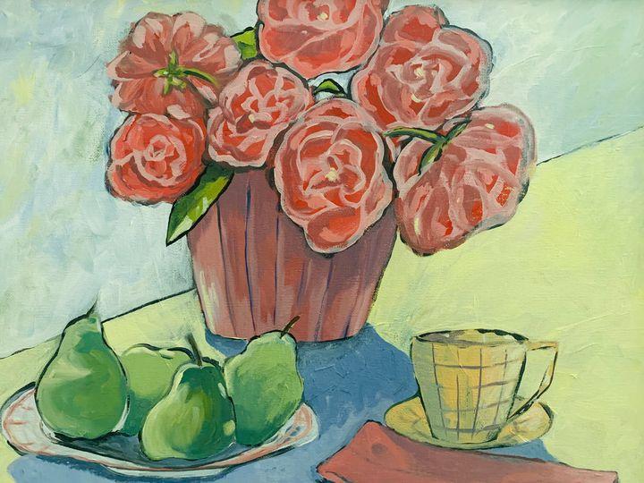 """Breakfast Table"" - Elise's Art Page - Art by Elise Palmer"