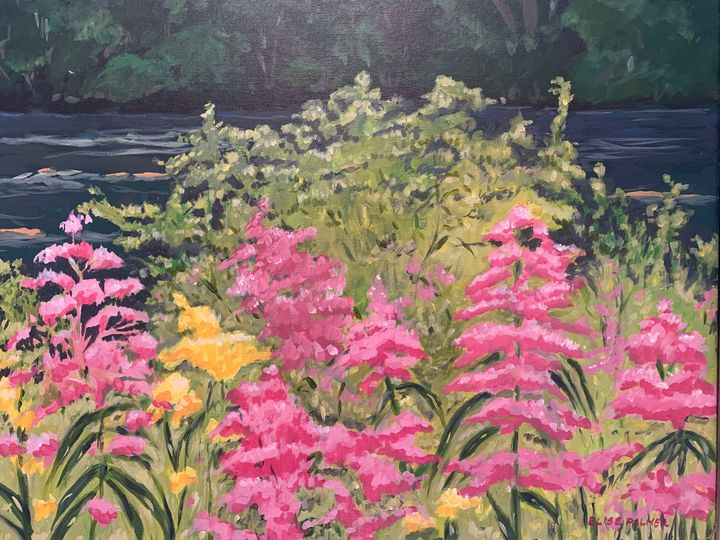 """""""Wishing for Spring"""" - Elise's Art Page - Art by Elise Palmer"""