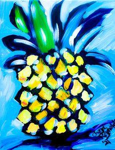 Moe Pineapple - Cheryl Reynolds Art