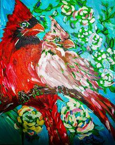 Looking Forward to Tomorrow - Cheryl Reynolds Art