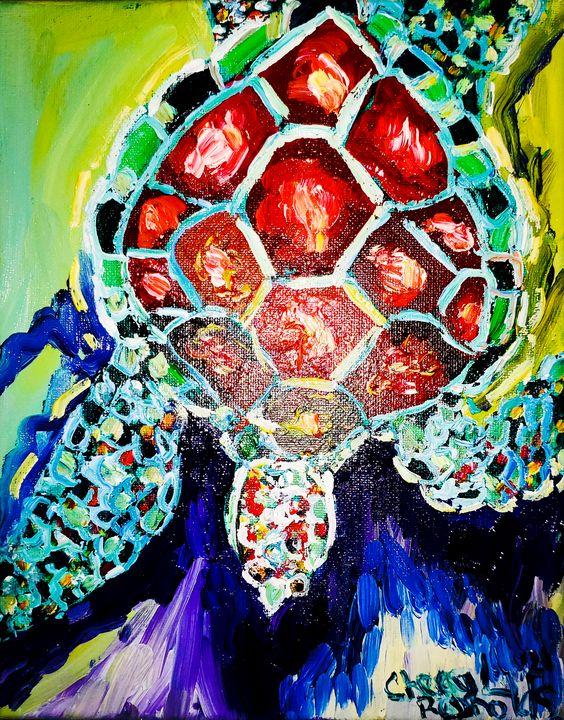 Cecile Glides - Cheryl Reynolds Art