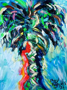 Electric Palmetto - Cheryl Reynolds Art