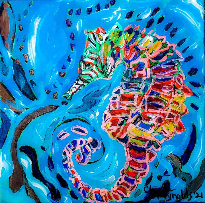Charlie Swirling - Cheryl Reynolds Art