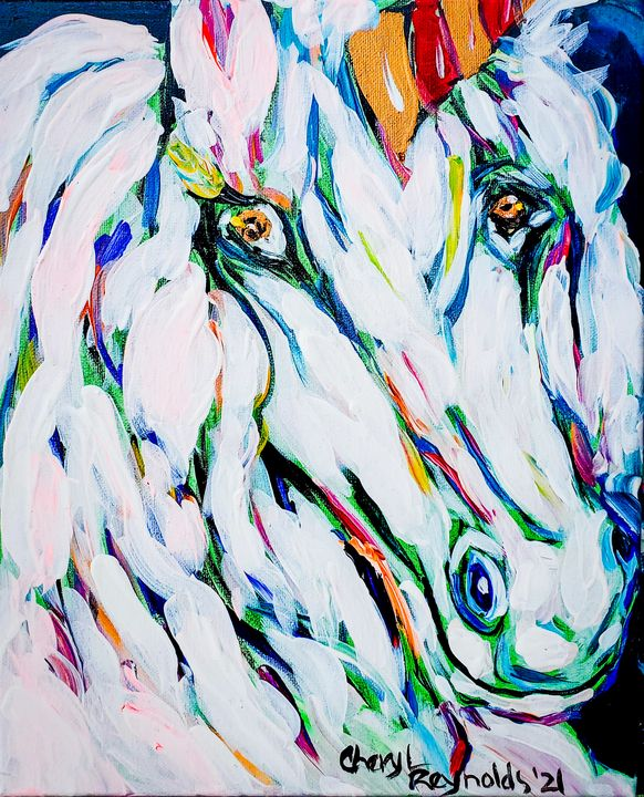 Sophia, The Unicorn - Cheryl Reynolds Art