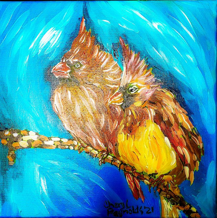 Ma and Pa - Cheryl Reynolds Art