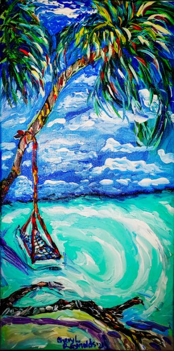 Just Swinging Along - Cheryl Reynolds Art