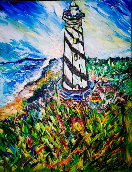 In and Outer Banks - Cheryl Reynolds Art