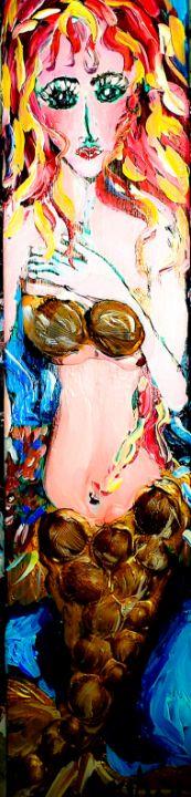 Mermaid Serenade Swim - Cheryl Reynolds Art