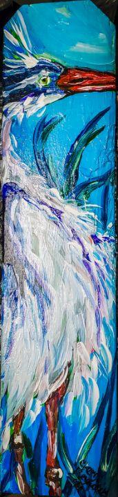 Walking To New Orleans - Cheryl Reynolds Art