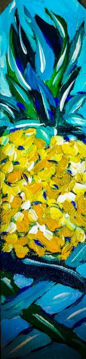 Round Pineapples Are Fun - Cheryl Reynolds Art