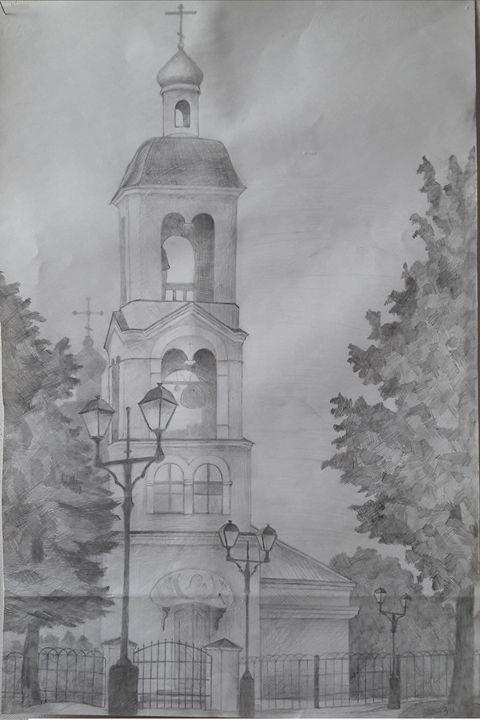 The church in the park - N.Zagrebina