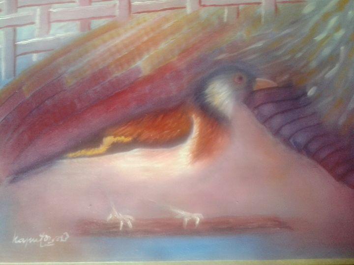 The mystery bird - kaputo_artist