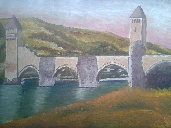 cahors,le pont valentré - kaputo_artist