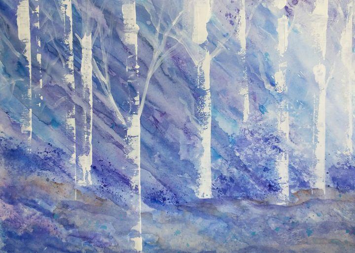 Birchwood Forest - Welcome to Bentivegna Art