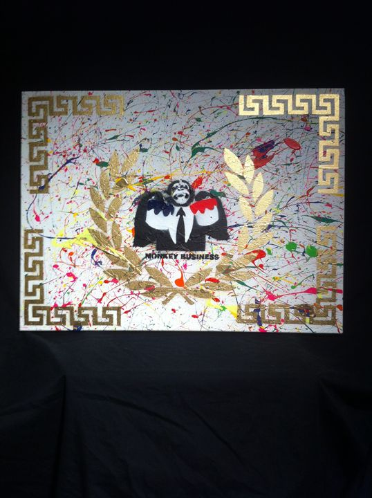 Monkey business - Empire State Art