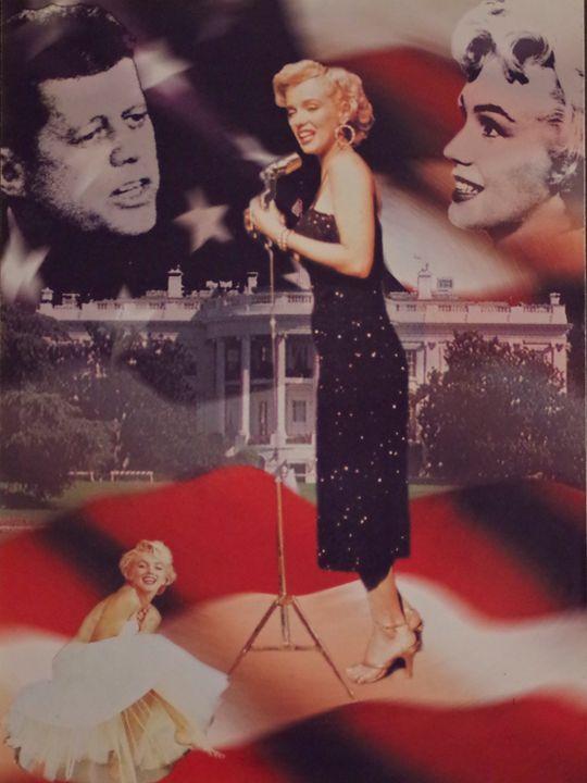 Marilyn Monroe Summer - Roberto Garibay-Hernandez