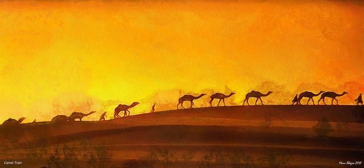 Camel Train - ManuBhagra