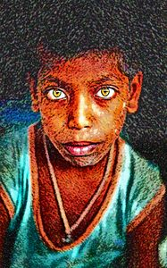 Street Kid - India Portrait