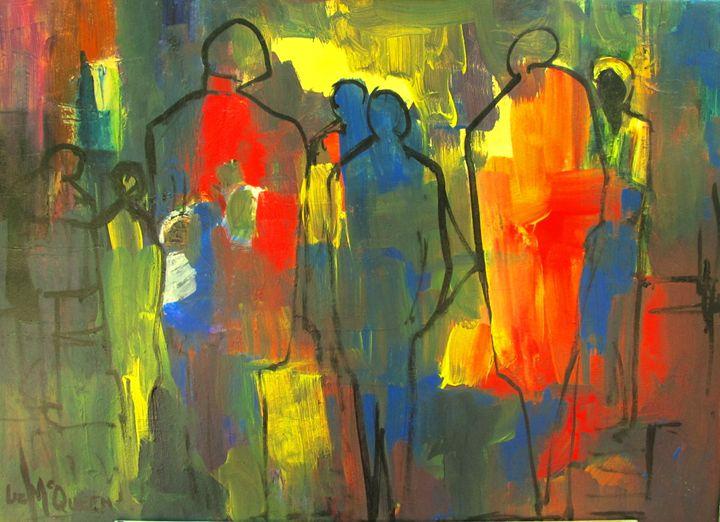 Nite Shopping #3630 - Liz McQueen's Art