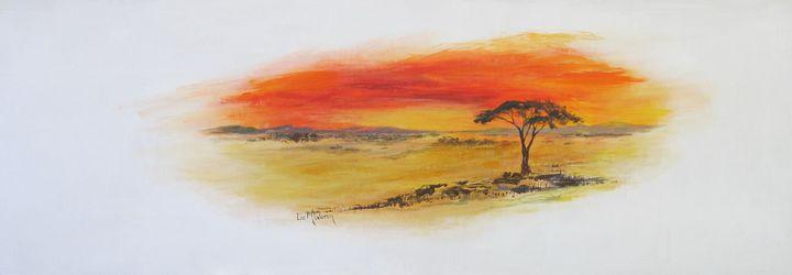 African Evening ......#3973 - Liz McQueen's Art