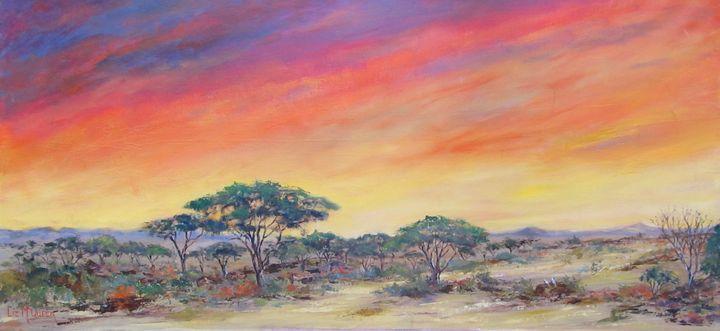 Bushveld Sundowner #3875 - Liz McQueen's Art