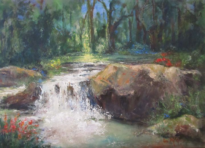 The River Runs Through #3793 SOLD - Liz McQueen's Art