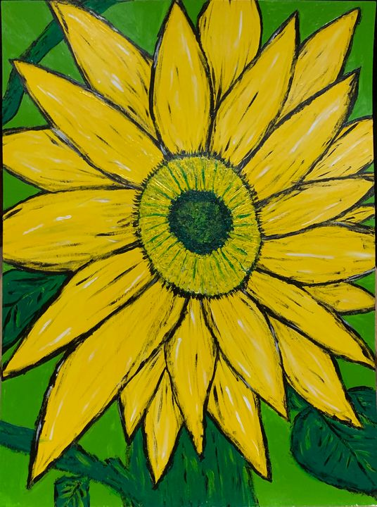 Sunflower - Thegirlwho_paints