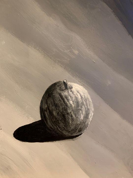 7 Shades of Gray, Apple - Thegirlwho_paints