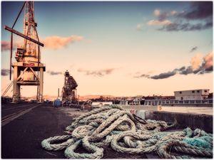 Abandoned Mare Island naval shipyard