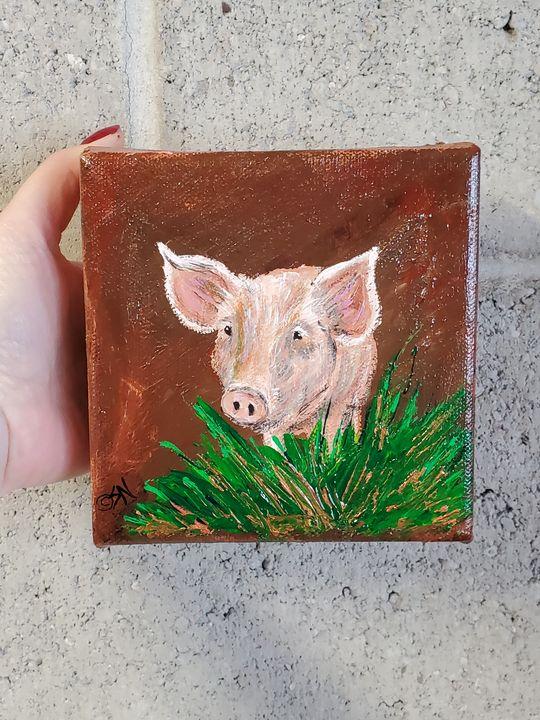 Piglet - Sarah Ninnemann Art & Photography LLC