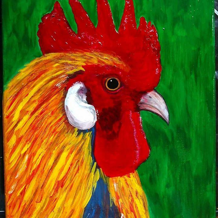 Cock-a-doodle-doo - Sarah Ninnemann Art & Photography LLC