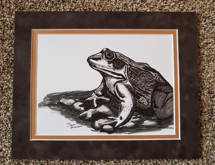 Hello Frog - Sarah Ninnemann Art & Photography LLC