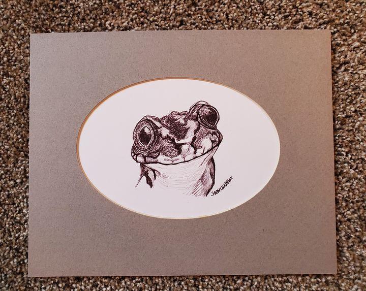 Froggie - Sarah Ninnemann Art & Photography LLC