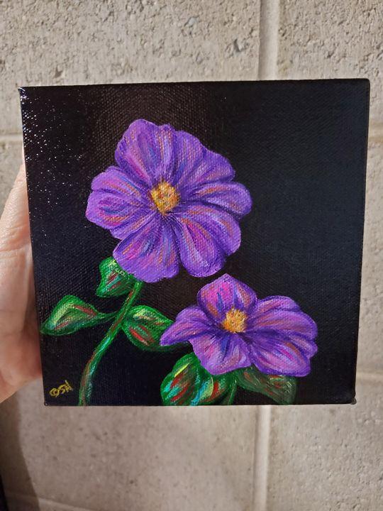 Purple joy - Sarah Ninnemann Art & Photography LLC